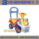 Contemporary latest plastic swing car mould toys