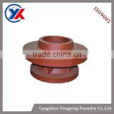 painted precision bearing housing casting for machining parts,iron castings