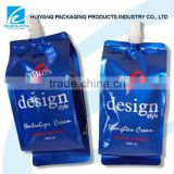 Safety Food Grade!!Stand up spout pouch beverage bag for alcohol packaging