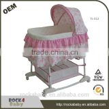 Travel portable baby bed iron baby crib for baby new born