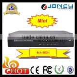 Onvif Linux network Embeded 960H Cctv 4ch Dvr Recorder, H.264 Standalone cctv DVR cms free software
