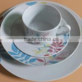 Perfect service Porcelain Ceramic dinner set porcelain round tableware dinnersets crockery porcelain dinnerware sets