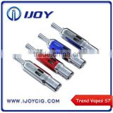 Stock Offer Genuine Ijoy Bottom Dual Coil 1.8ohm trend vapes s7, 2015 newest tank atomizer