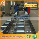 Full Automatic Products Cable Tray Cold Roll Forming Machine For Purlin Roll Forming Machine Made In China