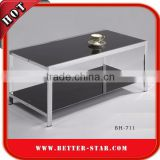 Stainless Steel Table, Tempered Glass Table, Tempered Glass Coffee Table