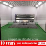 Qiangxin QX3000 Furniture Paint Drying Used Downdraft Paint Booth for sale (with water curtain)