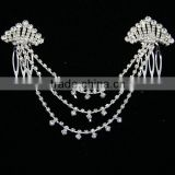 fancy mini tiara comb headband,crystal hair jewelry