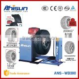 tyre balancer as truck diagnostic equipment and auto maintenance workshop tool