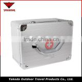 High Quqlity Silver Aluminum Medical Tool Box Household First Aid Boxes Medical Portable Safely Box