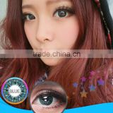 Fashion beautiful girl big eyes 3-tone brilliant magic colored korea style contact lenses for big eyes