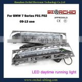 flexible high quality led daytime running light DRL for BMW 7 Series F01 F02 09-13 use