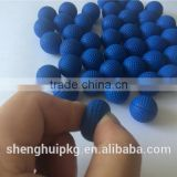 Colorful 2g Weight 2.3cm/0.9 inch PU Foam Rival Round Ball Rival Round Bullet Ball Toy Gun Bullet Balls