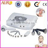 Au-6801 ultrasonic cleaner diamond head microdermabrasion cool and warm hammer beauty machine