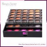 High quality baked eyeshadow empty palette 26mm,180 color pop eyeshadow makeup