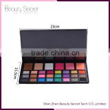 Professional Women Beauty Cosmetic Set makeup eyeshadow 30 Color Eye shadow & Blush makeup Palette Kit