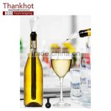 Best Barware Tool Stainless Steel Chiller, Cooling Rod and Pourer, Wine Bottle Cooler Stick