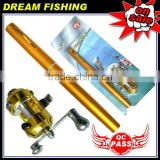 new-model fishing pen rod