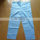 non-woven nonrecurring /one-time/one off medical protective gowns(X-ray clothes)( trousers)