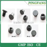 Hot sale different kinds of Butyl rubber stoppers for lyophillous