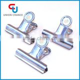 High quality stainless steel metal silver letter clip flat spring paper clip