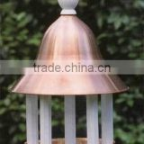 Hot Selling and Antique Looking Bird Feeder, Available in different colors, can be customized as required, Bell shaped Top,