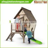 Kids Cubby House , Wood Children Playhouse