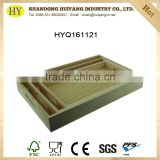2016 new custom unfinished wood tray wooden serving tray wholesale