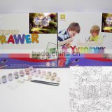 DIY Digital Painting Educational paint kit toy