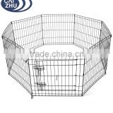 "24"" 30"" 36"" 42"" 48"" Dog Playpen Metal Wire Crate Pet Puppy Fence Exercise Cage"