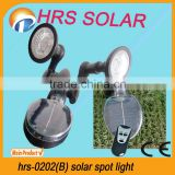 2013 NEW HRS-0202(B) Highlight high lumens solar spotlight
