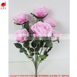 Factory direct artificial bouquet wedding rose flowers