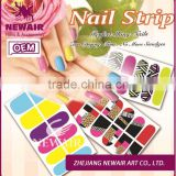 Newair wholesale 2016 beauty naildesign online nails polish stickers nail star stickers for nail art
