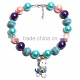 Princess girls chunky bubblegum necklace Snoopy M5060611