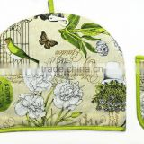 cotton twill tea cosy beautiful heat preservation tea pot cover