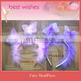 Nylon Butterfly ear baby headband wholesale for fairy costumes