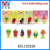 kids plastic toy wind up vegetable for children
