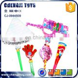 Festive and party toy 6pcs party suit birthday party supplies
