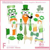 Adult Saint Patrick Party Decoration Green Photo Booth Props For Irish Party