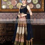 Gorgeous Party wear navy blue suit anarkali suit for women