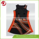 2015 Cheap oem service good quality netball jersey and dress