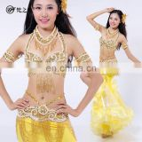 Beading tassel sequins sexy austrial bellydance costumes