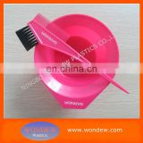 Tint bowl and brush / Hair colouring bowl and brush / Dye bowl and brush