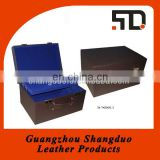 Guangzhou Manufacture Custom PU Leather Beauty Case