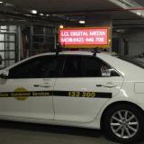 Taxi Top LED Billboard In Australia  Taxi Topper LED Sign