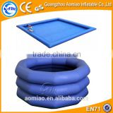 Sacco inflatable water pool with mattress made in China