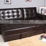 PU Leather Sectional Home Corner Sofa Bed Sleeper                                                                         Quality Choice