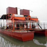 gold mining dredger ship China manufacturer