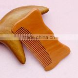 New Beard Comb Wood ,Hair Wooden Comb With Laser Logo