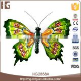 Colorful butterfly art craft wall sculpture for home decoration 36x26x8CMH
