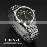 Latest Fashion Water Resisitant Stainless Steel Watches Men Calendar Watch 051AMS